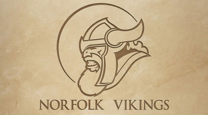 Projekt logo Norfolk Vikings