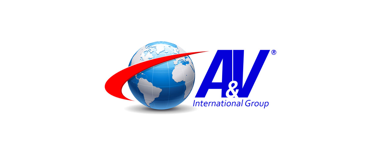 Projektowanie Logo - Logo A&V International Group