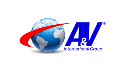 Projekt logo A&V International Group - USA